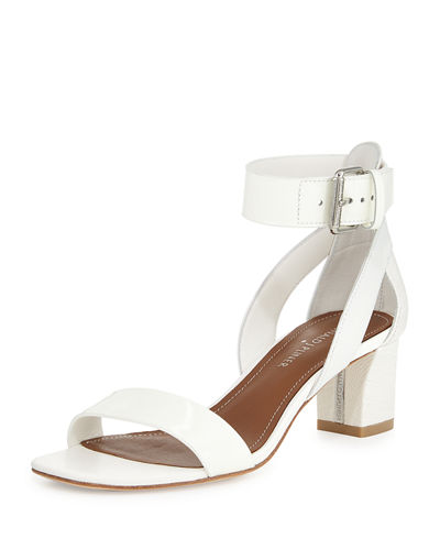 Farah Patent/Leather City Sandal