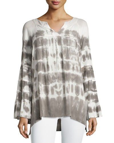 Anchorage Top with Lace Trim