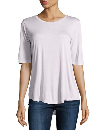 Relaxed Half-Sleeve Top