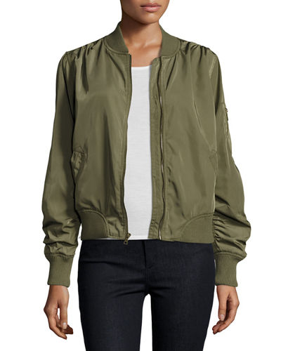 Charmeause Bomber Jacket