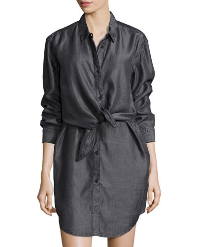 Great Button-Front Shirtdress