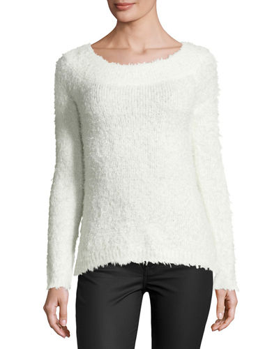 Long-Sleeve Pullover Sweater