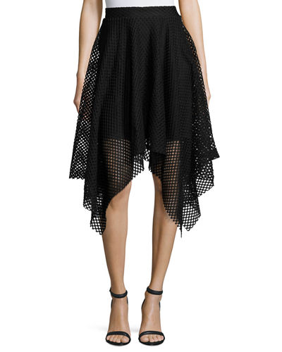Fishnet Handkerchief Skirt
