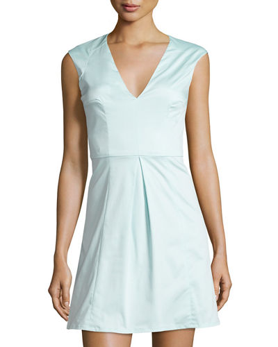 Classic Capri Sleeveless Fit & Flare Dress