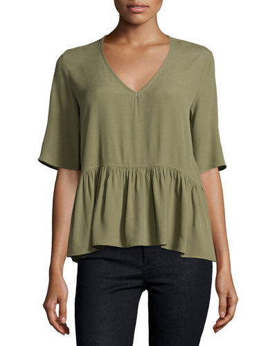 Jules Back Cutout Top