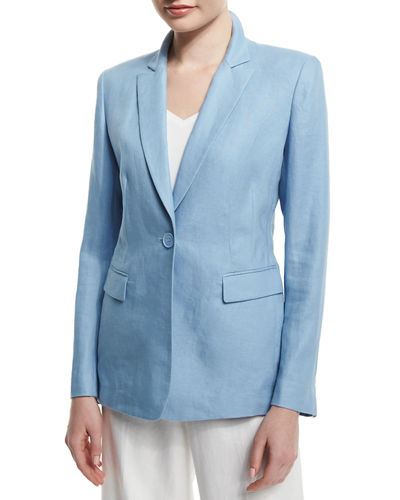 Mackenzie One-Button Jacket
