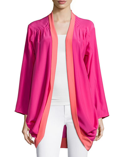 Signature Oliver Draped Cardigan
