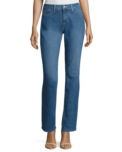 Marilyn Straight-Leg Denim Jeans
