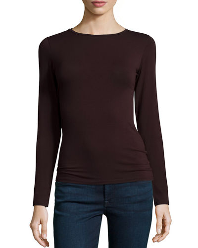Soft Touch Long-Sleeve Crewneck Tee