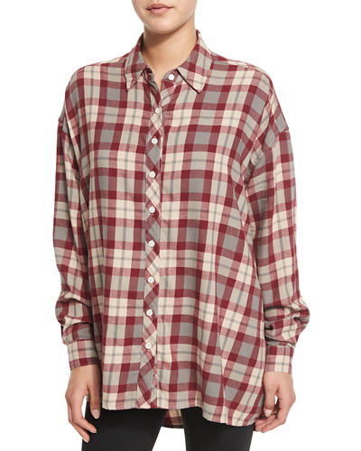 The Big Shirt, Red Plaid