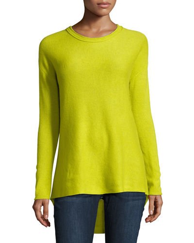 Cashmere High-Low A-Line Tunic