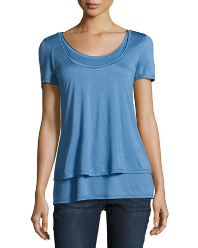 Double-Layer Relaxed Tee