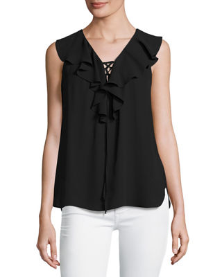 Silk & Long Sleeve Blouse at Neiman Marcus Last Call