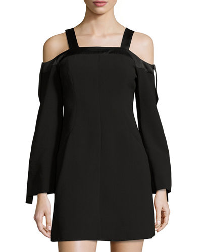 Outgrown Cold-Shoulder Dress
