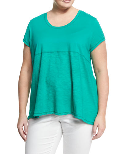 Memphis Short-Sleeve Tee, Plus Size