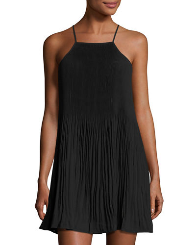 Pleated Camisole Dress