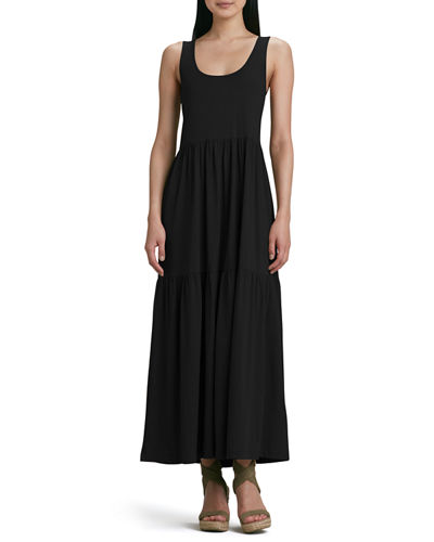 Tiered Long Tank Dress, Petite