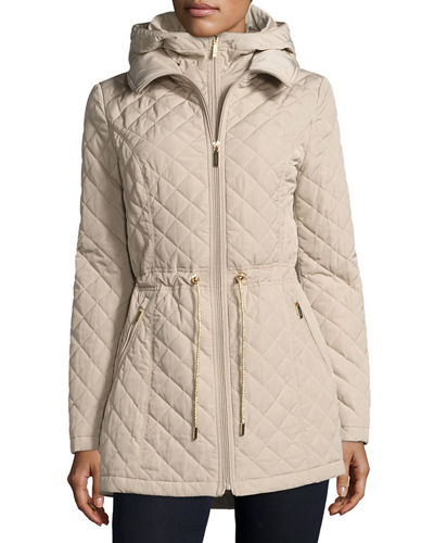 Mini Quilted Wind Resistant Jacket