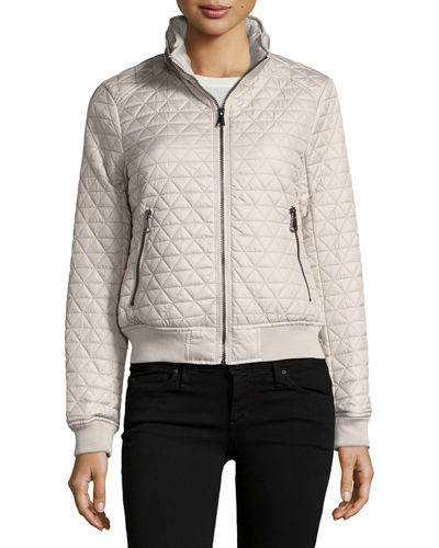 Oakley Pyramid-Quilted Bomber Jacket