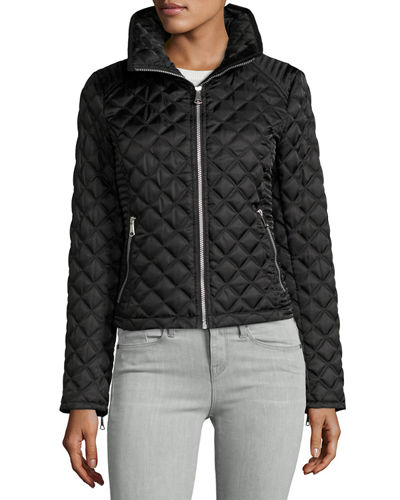 Charlie Chain-Link Quilted Jacket