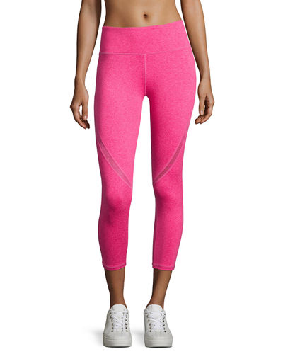 Swerve Wide-Waist Capri Leggings