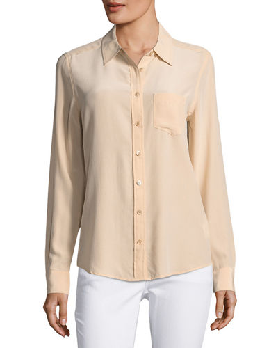 Brett Silk Blouse