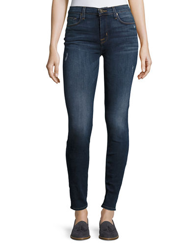 Nico Skinny-Fit Jeans, Medium Blue