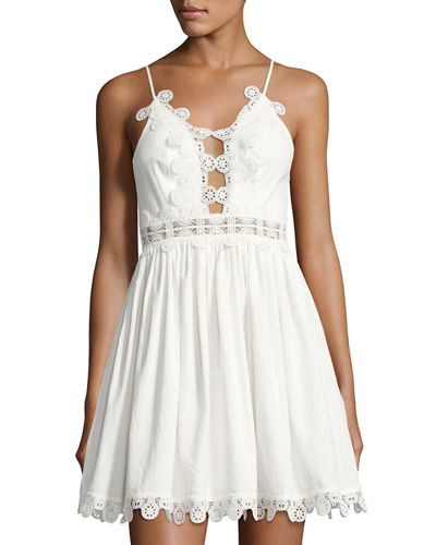 Odelle Lace-Trim Dress