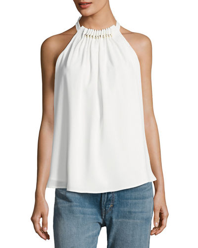 Hurricane Gathered Sleeveless Top