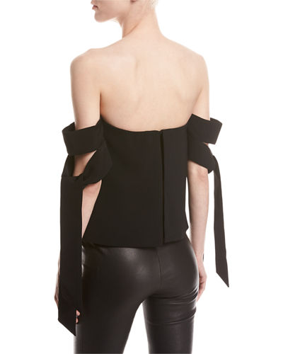 Charged Up Off-The-Shoulder Top
