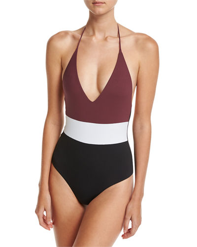 Chase Colorblock One-Piece Swimsuit