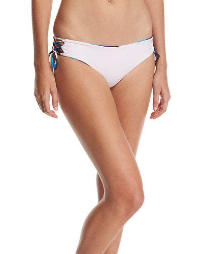 Bebe Lace-Up Swim Bottoms