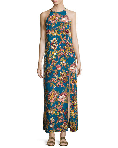 Limelight Halter Maxi Dress