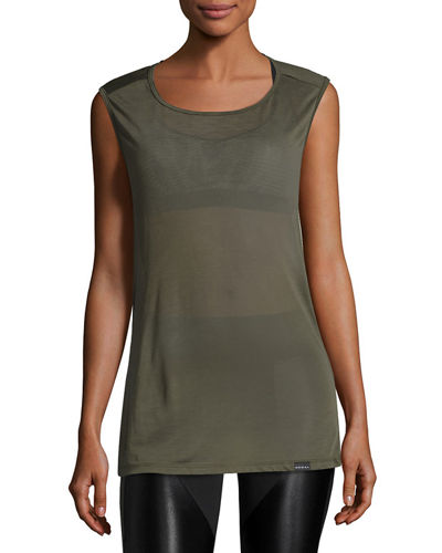 Aura Open-Back Tank