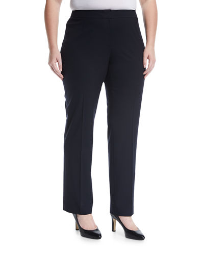 Barrow Straight-Leg Pants, Plus Size