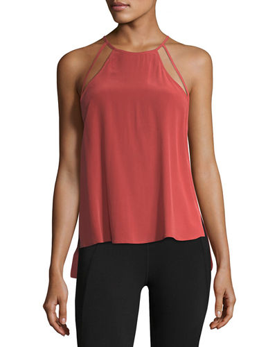 Lisbeth Silk Swing Tank