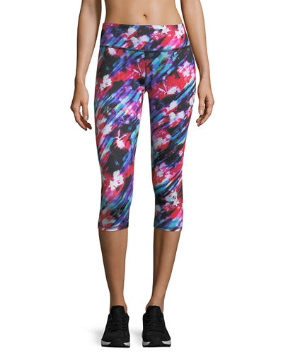 Ava Reversible Performance Capri Leggings