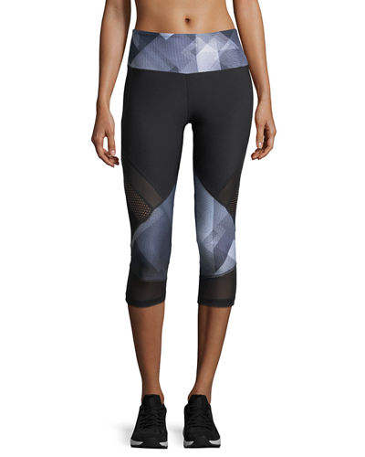 Ava Impulse Paneled Capri Leggings