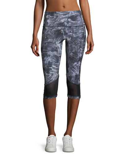 Monaco High Waist Crop Leggings