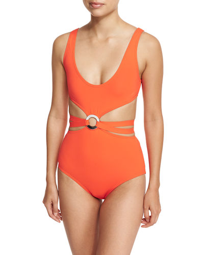 Maillot Split-Middle One-Piece Swimsuit