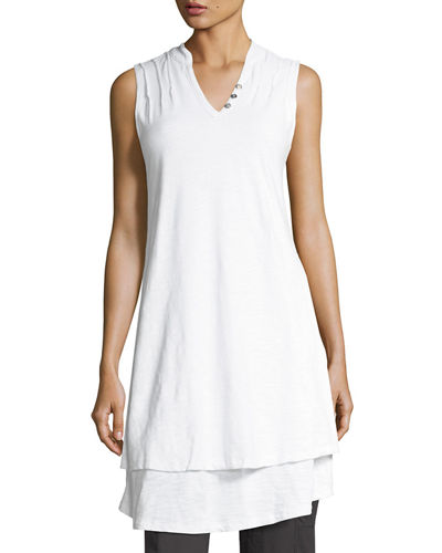Eternity Pintuck Jersey Tunic