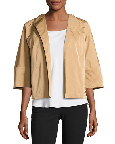 Jessica Open-Front Topper Jacket