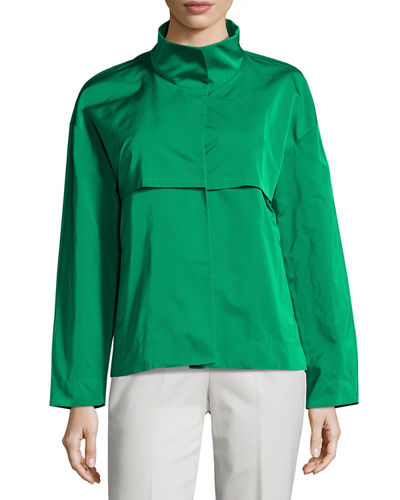 Tiegs Snap-Front Topper Jacket