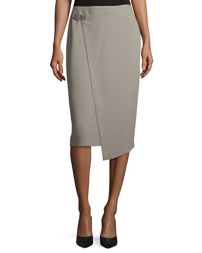 Ciara Wrap Pencil Skirt