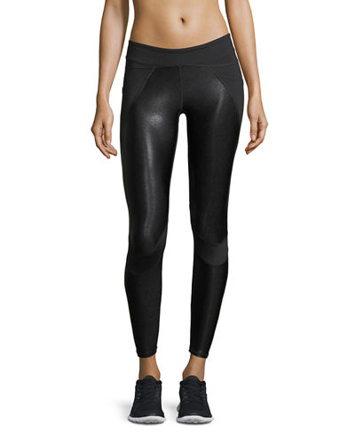 Blade Side Pockets Panels Performance Leggings