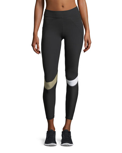 Blade Side-Pockets Panels Performance Leggings