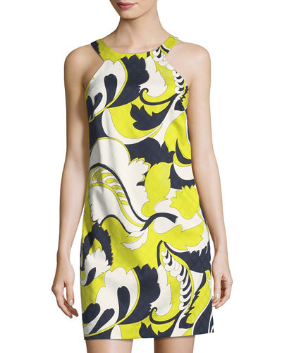 Aptos Floral-Print Shift Dress