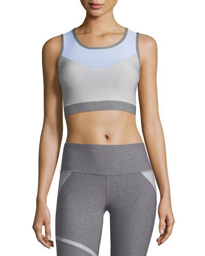 Back-Stripes Sports Bra Top