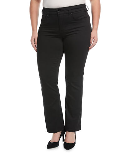 Slimming-Silhouette Boot-Cut Jeans