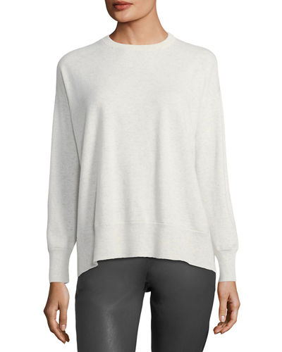 Cashmere Drop-Shoulder Sweater